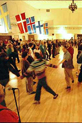 people dancing at Norse Hall