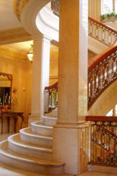 Pittock Mansion staircase