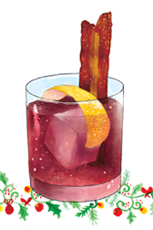 drawing of cocktail