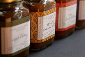 bottles of Cardamom Hill Chutney